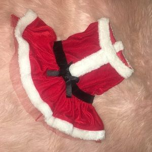 Petholiday ~ Mrs. Claus Dog Dress